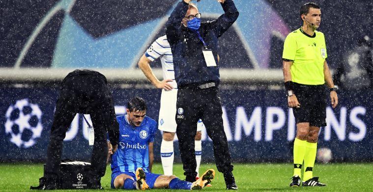 """De Decker en KAA Gent houden hart vast met Yaremchuk: """"Ziet er niet goed uit"""""""