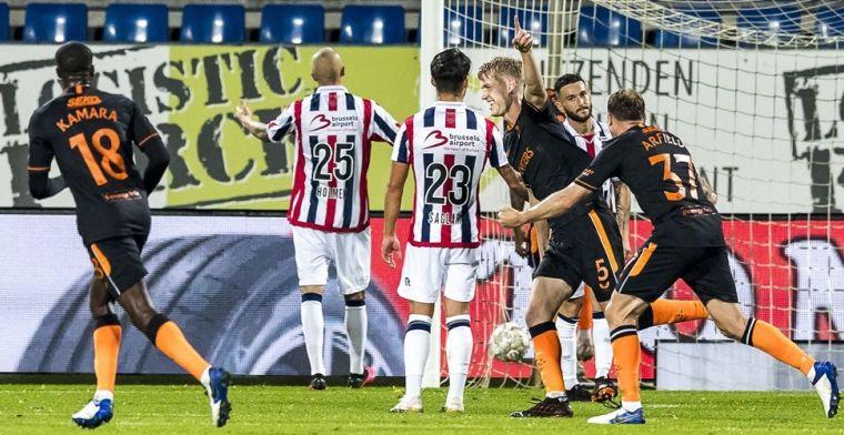 Doek valt voor Willem II: Gerrard vertrekt met geflatteerde cijfers uit Tilburg