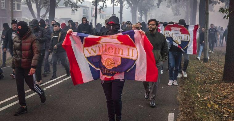 Ophef over feest van Willem II-supporters in Tilburg: alle coronaregels overboord