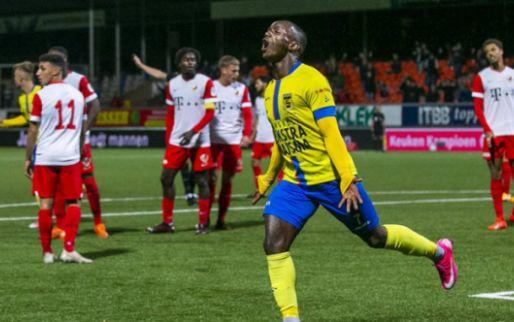 Afbeelding: Cambuur haalt uit tegen tegen Jong Utrecht, tweede overwinning voor MVV