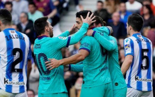 Emotionele Messi neemt afscheid van vriend Suárez: 'Je verdiende dit niet'