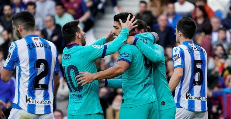 Messi neemt afscheid van zijn vriend Suárez: 'Je verdiende dit niet'