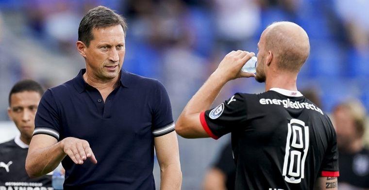 Schmidt houdt rekening met PSV-transfer: 'Er wordt onderhandeld'