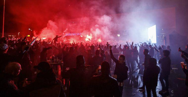 Willem II-fans gaan boekje te buiten: 'Wtf, Tricolores. Dit gaat gruwelijk mis zo'