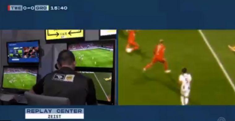 Verontwaardiging bij Twente: doelpunt Cerny afgekeurd na minutenlang VAR-overleg