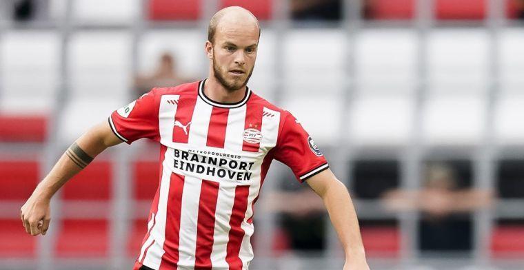 Hij staat wel open voor een nieuw avontuur, zonder de focus op PSV te verliezen