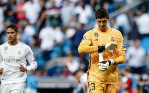 Courtois houdt Real Madrid recht met klasse redding