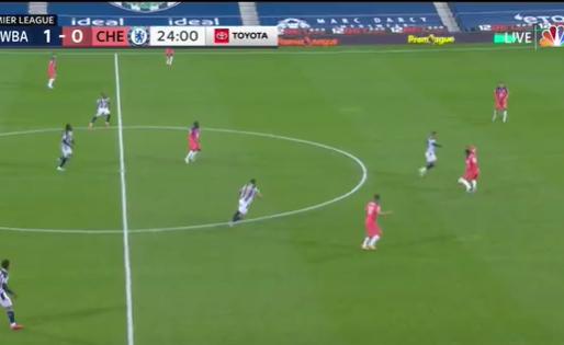 GOAL: 1, 2 & 3-0 Chelsea gaat af bij West Brom, Thiago Silva gaat Gerrard achterna