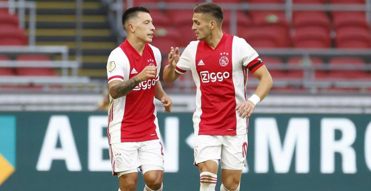 Tadic ziet potentie bij Ajax: 'De potentie om net zo goed te worden als Ziyech'