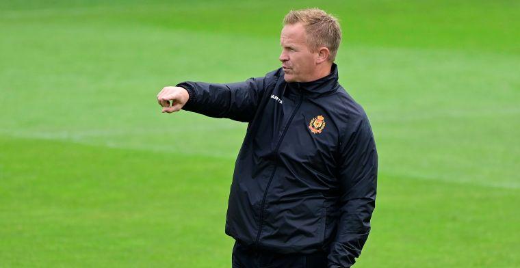 Vrancken hoopt op reactie: 'Moeilijkste periode als trainer van KV Mechelen'