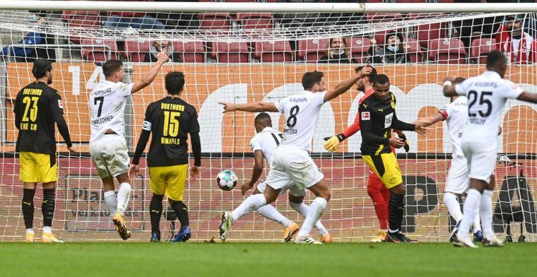 Dortmund blameert zich bij Augsburg, prachtige goals bij Leverkusen - Leipzig