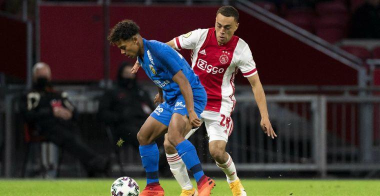 RAC1: Dest neemt na Ajax-Vitesse afscheid van teamgenoten in de kleedkamer