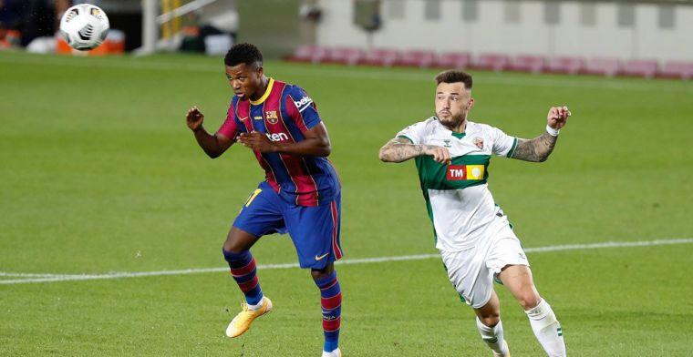 'Barça wijst bod van 150 miljoen euro op Fati af, aanvaller blijft in Camp Nou'