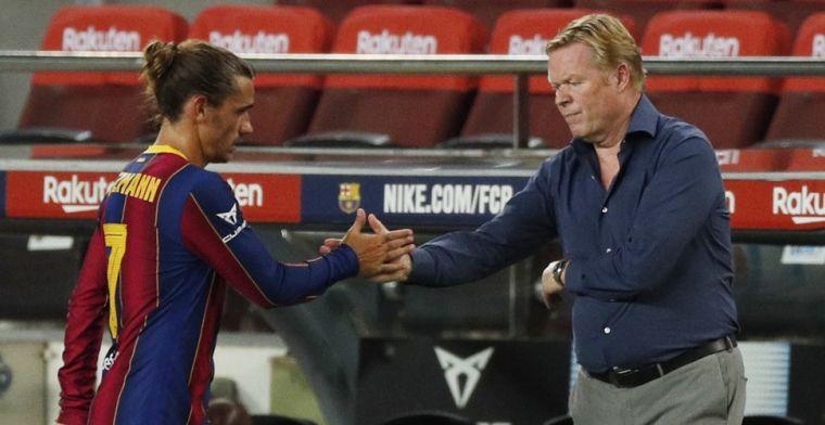 Koeman wil wat rechtzetten: 'Ik heb respect voor getoond voor Luis Suárez'