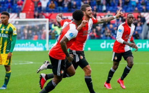 Wondergoal Senesi helpt Feyenoord over het dode punt heen in vermakelijk duel