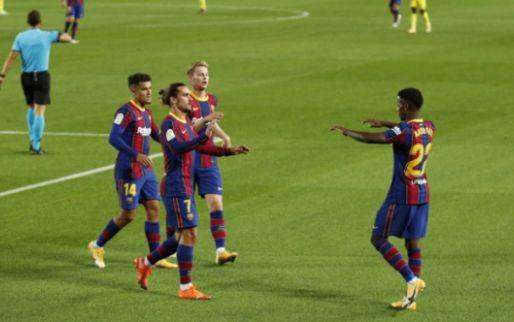 Afbeelding: Barça en uitblinker Fati trakteren Koeman op galavoorstelling van 45 minuten