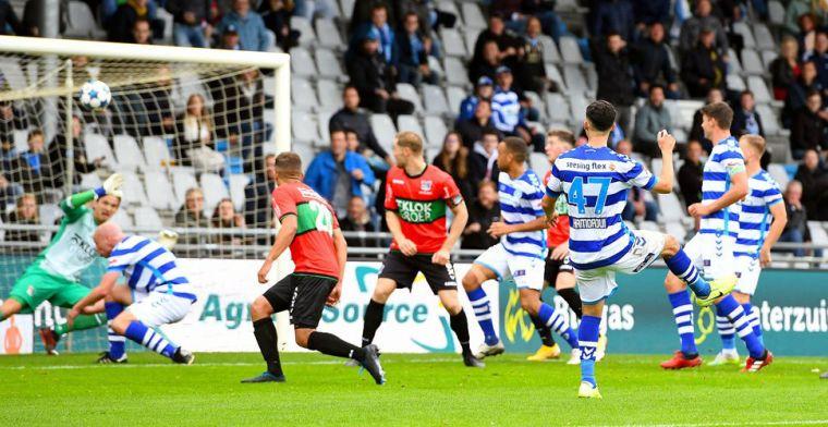 De Graafschap herpakt zich in derby na 7-3 nederlaag, vier tegengoals voor Zoet