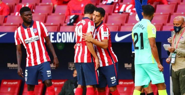 Suárez imponeert bij Atlético-debuut: twee goals en één assist in twintig minuten