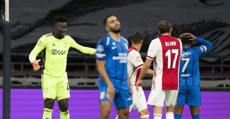 Onana kan fans Ajax niet geruststellen: 'Nieuwe uitdaging is ook belangrijk'