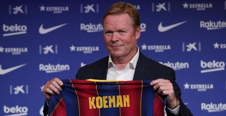 De eerste Barça-selectie van het seizoen: 'Geen grote wijzigingen onder Koeman'