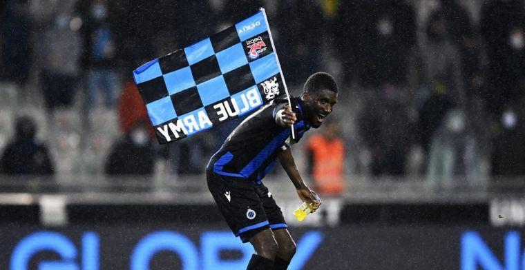 Club Brugge is 'ploeg van 't stad', Mata viert dat met vlag in middenstip