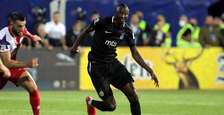 'Club Brugge wil Partizan-spits Sadiq voor miljoenenbedrag overnemen'