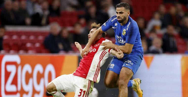 Kritiek op gedrag Ajax-spelers: 'Ze willen je naaien met gele en rode kaarten'