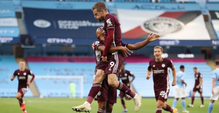 Leicester-Belgen en Vardy declasseren Manchester City: 2-5!