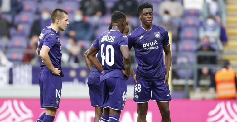 Anderlecht grijpt in slot naast winst: Weer twee weggegeven punten