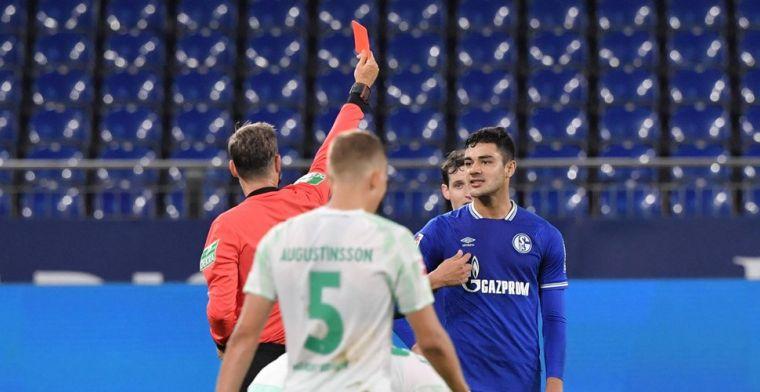Spugende Schalke-speler onder vuur te midden van crisis: 'Een ongeluk'