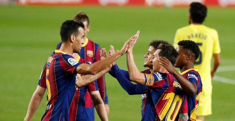 Lof voor aanpak Koeman bij Barça: 'Voelen ons er goed bij en willen zo doorgaan'