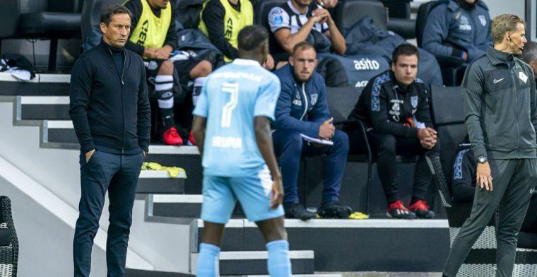 Kritiek op PSV-coach Schmidt: 'Net begonnen en dan ga je zoveel wijzigen?'
