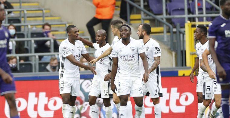 San José is tevreden na een verdiend puntje op Anderlecht