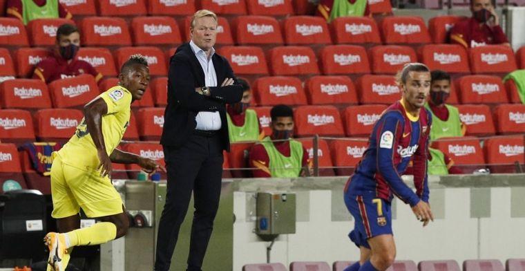 Koeman legt 'respectloze oppositie' zwijgen op: 'Drie dagen rust bij Barça'