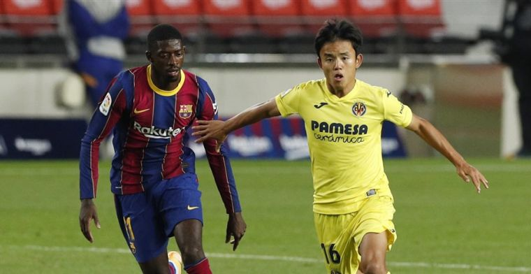 Dembélé leeft Koeman-regel niet na en arriveert te laat voor training Barcelona