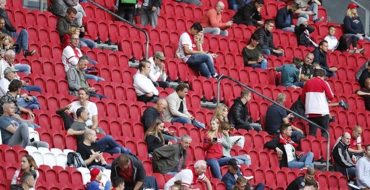 'Kabinet maakt maandagavond bekend: geen publiek meer bij profvoetbal'