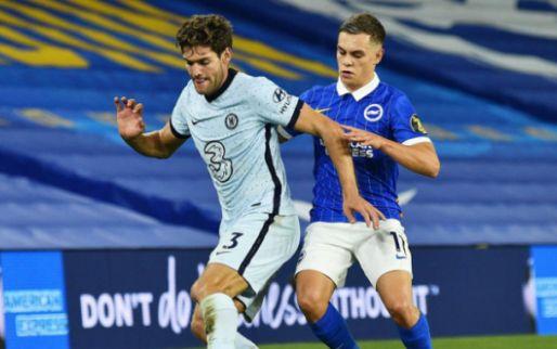 Afbeelding: 'Chelsea-schlemiel kijkt tweede helft tegen West Brom in spelersbus'
