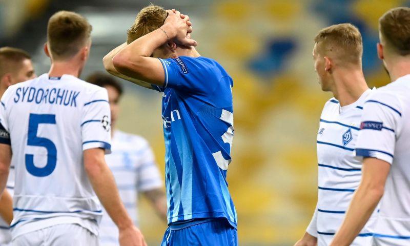 Afbeelding: Geen Champions League voor Gent, Dynamo Kiev maat te sterk voor Buffalo's