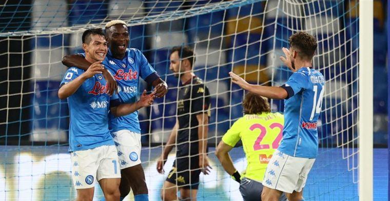 Lozano begint belofte in te lossen bij Napoli: 'Hij is een andere speler nu'
