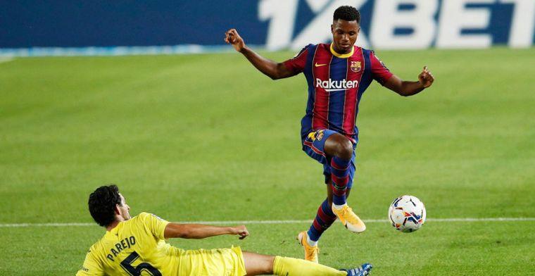 'Manchester United zat achter monsterbod op Fati, maar kwam paar dagen te laat'