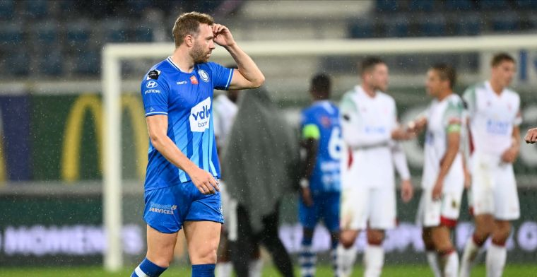 Referee Deparment: 'Depoitre (KAA Gent) verdiende rode kaart tegen OHL'