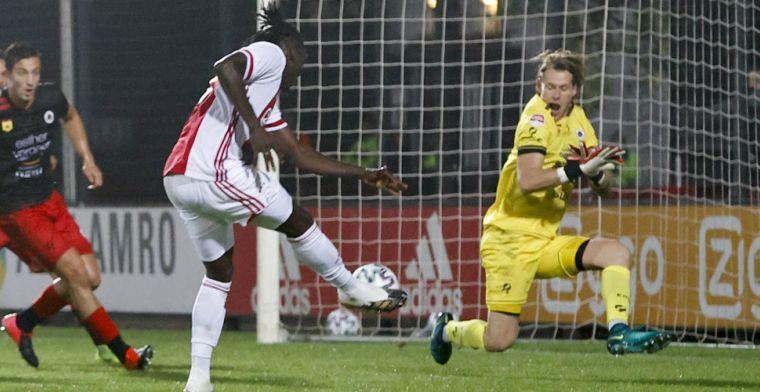 'Jong Ajax is geen degradatie, belangrijk om fit te zijn als ik mijn kans krijg'