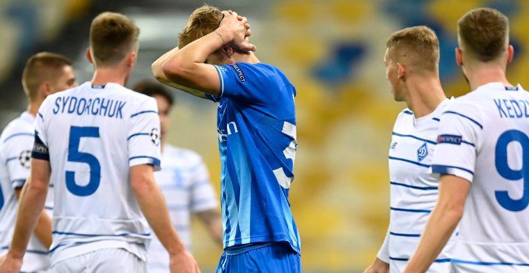 Geen Champions League voor Gent, Dynamo Kiev maat te sterk voor Buffalo's