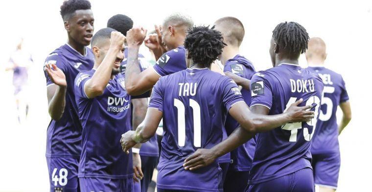'Zonder late tegengoals staat Anderlecht nu met Charleroi aan kop'