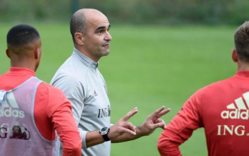 Martinez maakt selectie bekend: 33 namen opgeroepen, 5 nieuwkomers