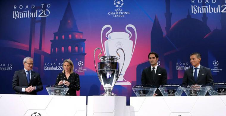 LIVE: Loting voor groepsfase Champions League met Club Brugge