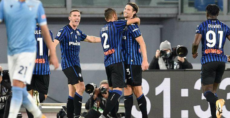 Atalanta laat geen spaan heel van Lazio: Hateboer volleert prachtig raak