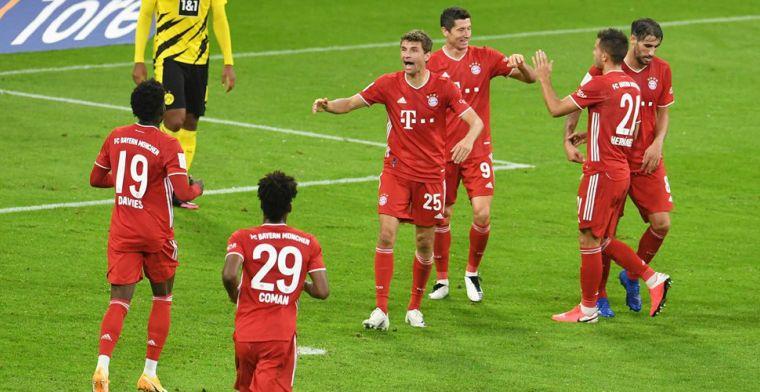 Bayern wint Duitse Supercup na spektakel tegen Dortmund, Kimmich matchwinner