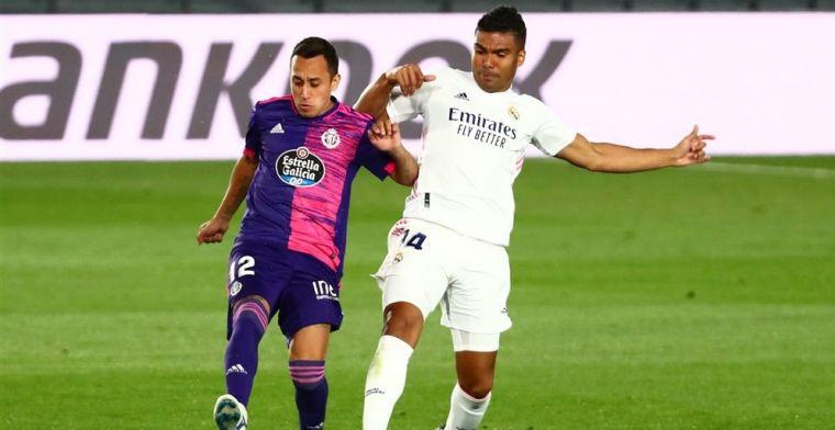 Real Madrid overtuigt niet en heeft krappe zege aan invaller Vinicius te danken