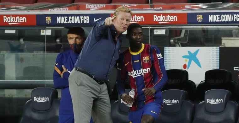 'Manchester United onderhandelt met Barcelona over huur', Koeman wacht af